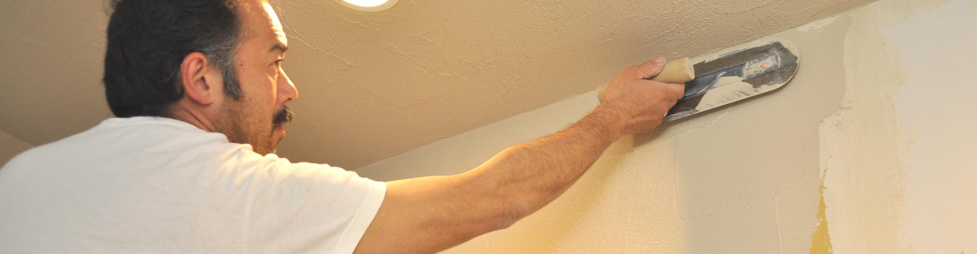 プロの左官屋による塗り壁リフォーム